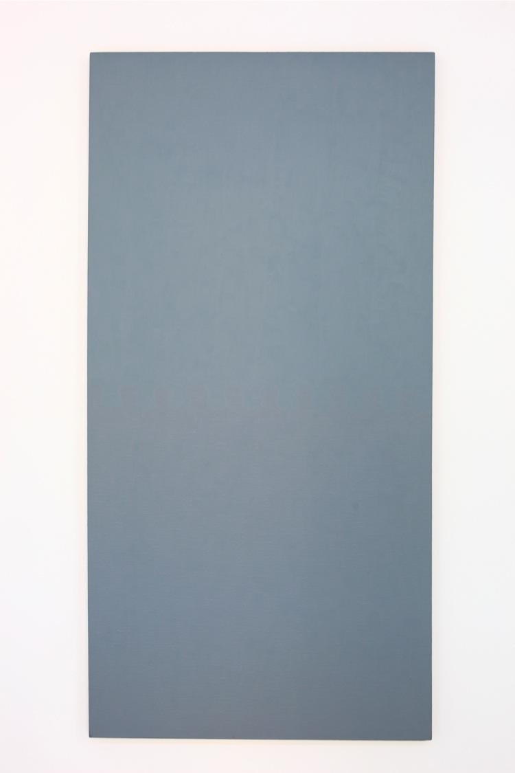 Ruth Ann Fredenthal, Untitled #114, 1983-84, olio su tela, 152.5x76.2 cm