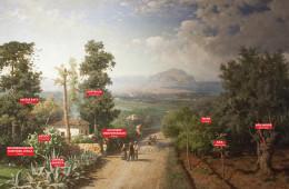 Veduta di Palermo, Francesco Lojacono, 1875, Manifesta 12 Palermo Atlas, 2017, Courtesy OMA