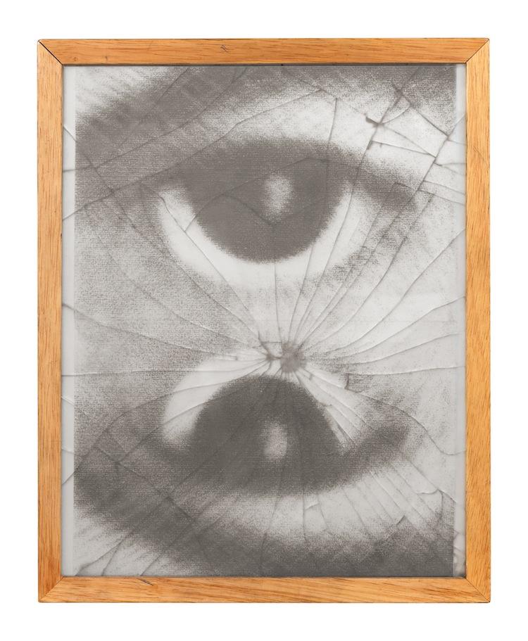 José Barrias, Vestigia, 2000, tecnica mista, 38x30 cm Foto di Sara Rizzo