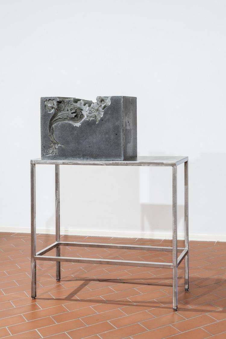 """Ornaghi&Prestinari. Stille, veduta della mostra (""""Inerti""""), Villa Pacchiani Centro Espositivo, Santa Croce sull'Arno (PI) Foto OKNOstudio"""