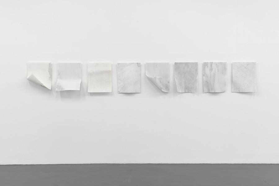 Antonio Trotta, Sospiri, 1999-2017, marmo, dimensione variabili Foto Nicola Gnesi