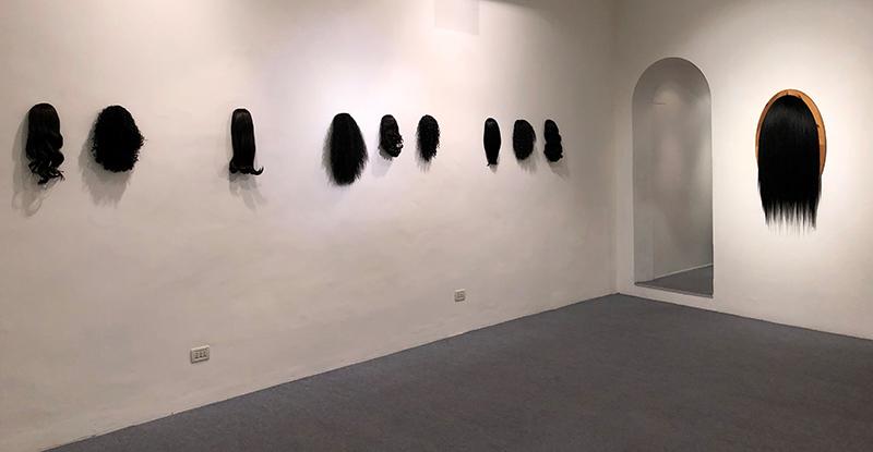 Elyse Galiano - Vista della mostra allo Spazio Testoni Bologna