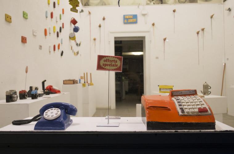 Giorgio di Palma, Tenga il resto, Milano, Spazio Nibe. Foto D. Miale 2017
