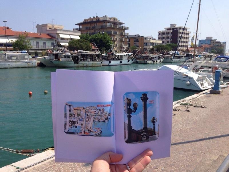 PetriPaselli, Porto Canale di Bellaria, Souvenir d'Italie (99objects, Issue 1/99, Souvenir Ashtrays)