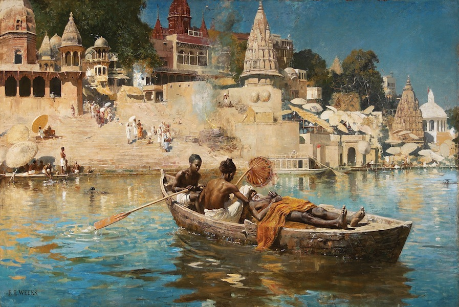 Edwin Lord Weeks, The Last Voyage - Souvenir of the Ganges, 1885 circa, olio su tela, Art Gallery of Hamilton. The Joey and Toby, Tanenbaum Collection, 2002 © Art Gallery of Hamilton