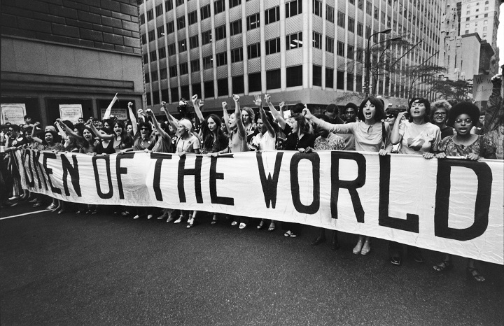 Manifestazione per l'uguaglianza dei diritti fra uomini e donne, New York, August 26, 1970 (Photo by Michael Abramson/The LIFE Images Collection/Getty Images)