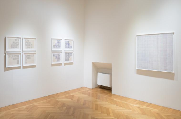 Diapason (Merola/Boetti) - Veduta della mostra