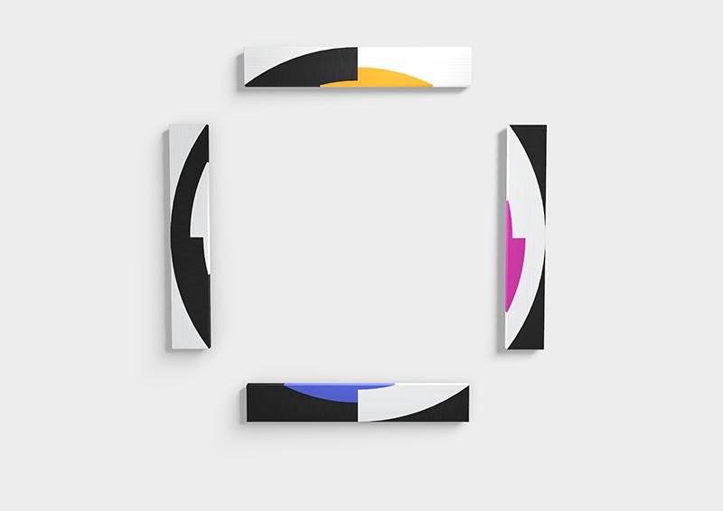 ESH Gallery, Giovanna Strada, SpazioLatente16, 2017, acrilico su tela applicata su legno