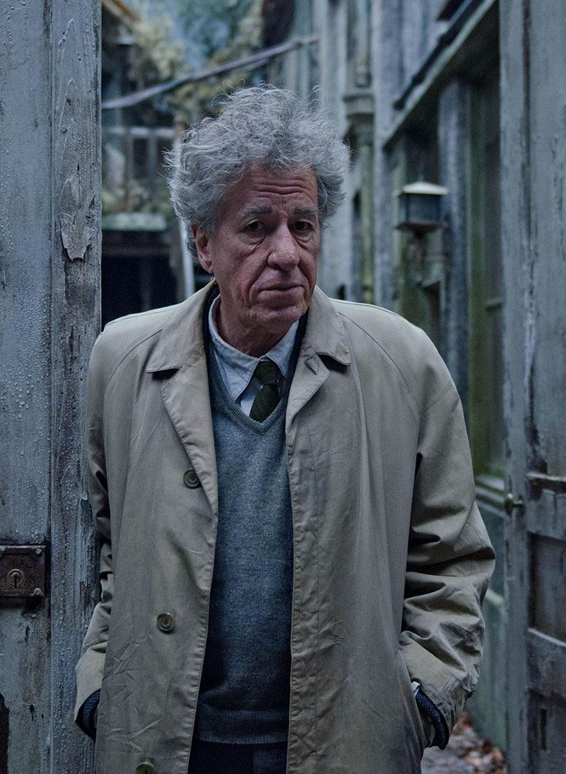 Geoffrey Rush nei panni di Alberto Giacometti