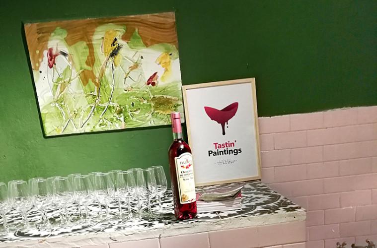 Tastin' Paintings a Casa Museo Jorn
