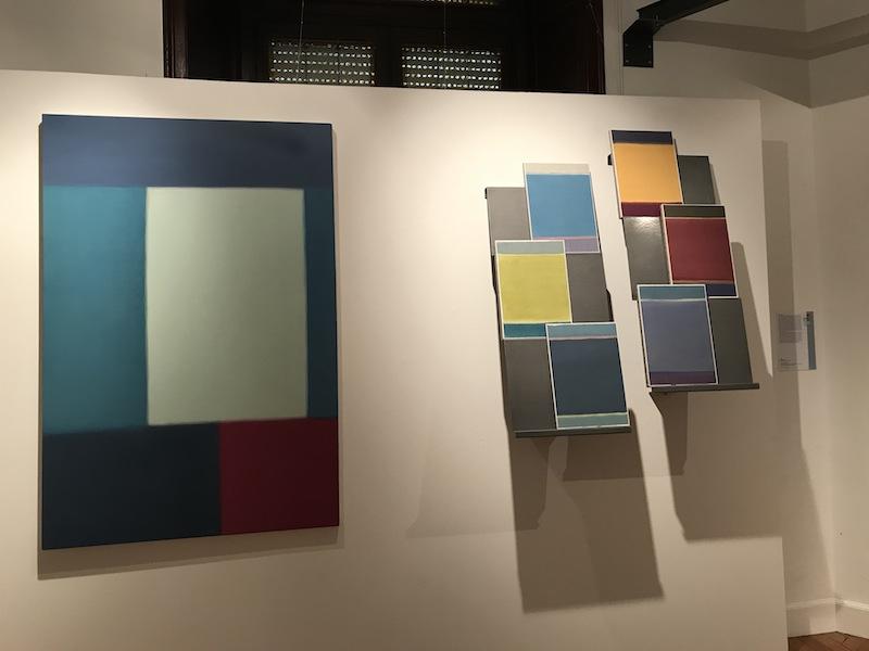 Caos Colore. Biennale d'Arte di Alessandria OMNIA 2018. Anno I, veduta della mostra (Nataly Maier), Palazzo Monferrato, Alessandria