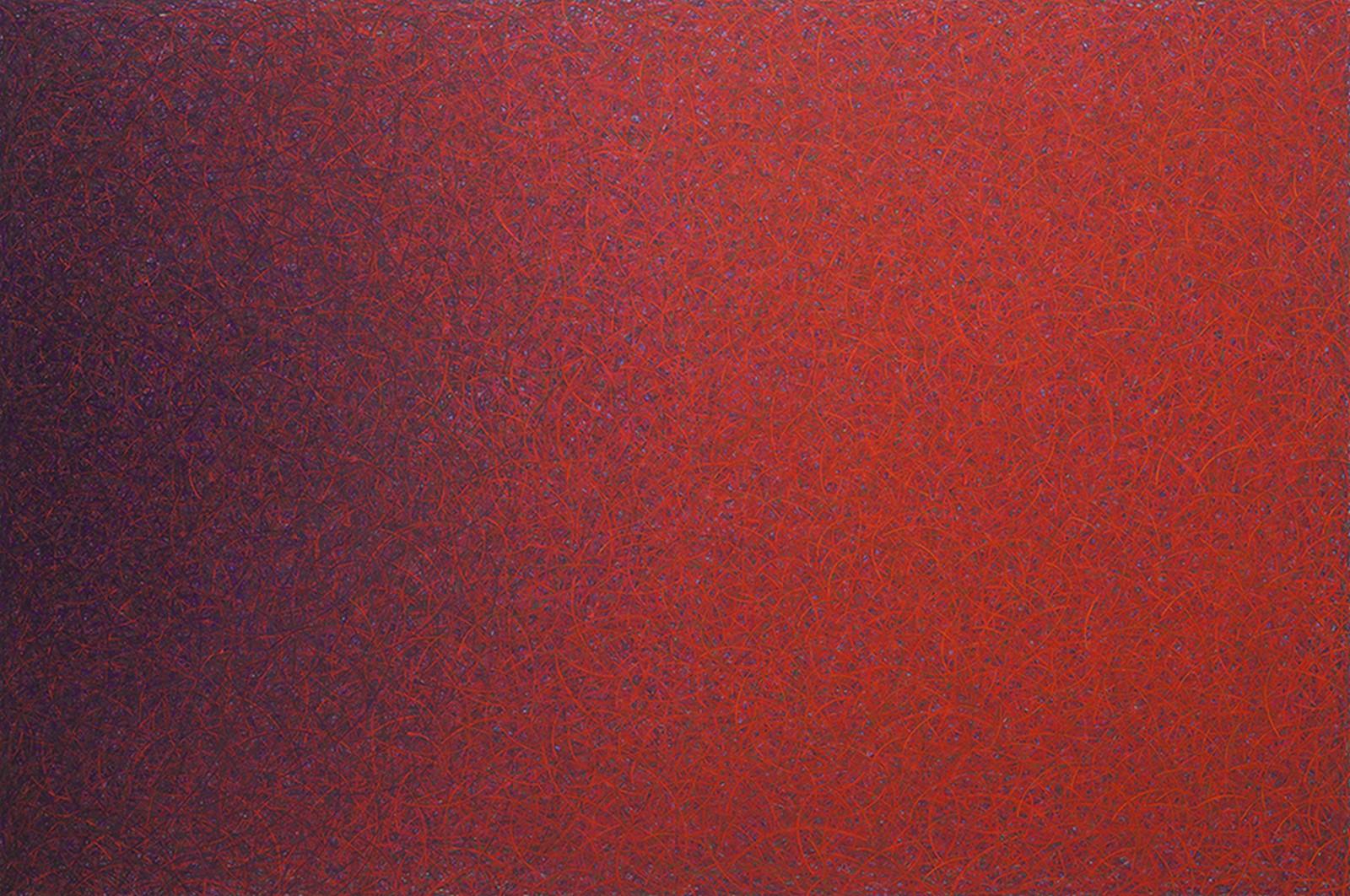 Luca Macauda, Untitled, 2014, pastello morbido su tela, cm 136x204
