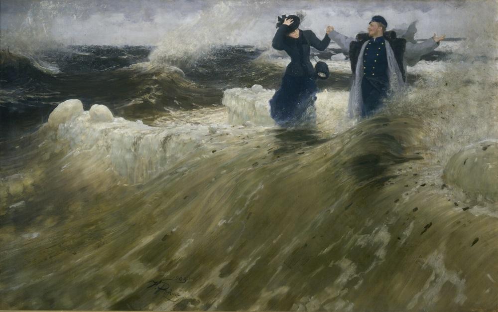 Il'ja Repin, Che vastità!, olio su tela, 1903 © State Russian Museum, St. Petersburg