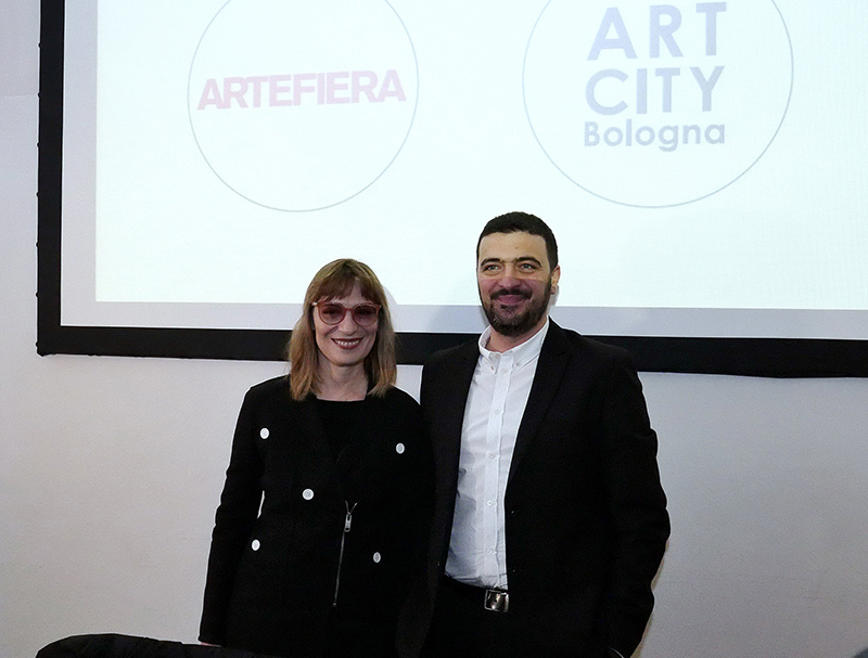 Arte Fiera 2018. Angela Vettese e Lorenzo Balbi