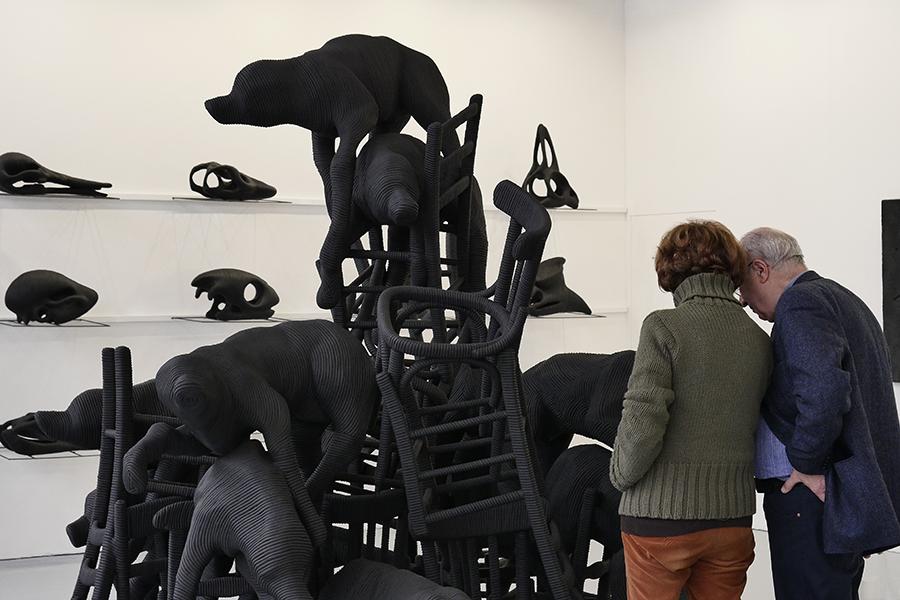 Paolo Grassino, Galleria Maurizio Caldirola, Courtesy Arte Fiera