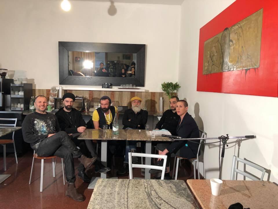 Angelo Bellobono, Giulio Cassanelli, Francesco Lauretta, Giovanni Gaggia e Milena Becci
