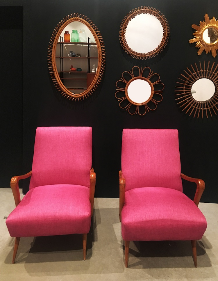 Collectors lounge by Claudia Pelizzari design (particolare dell'allestimento)