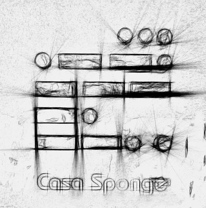 CASA SPONGE - disegno preparatorio
