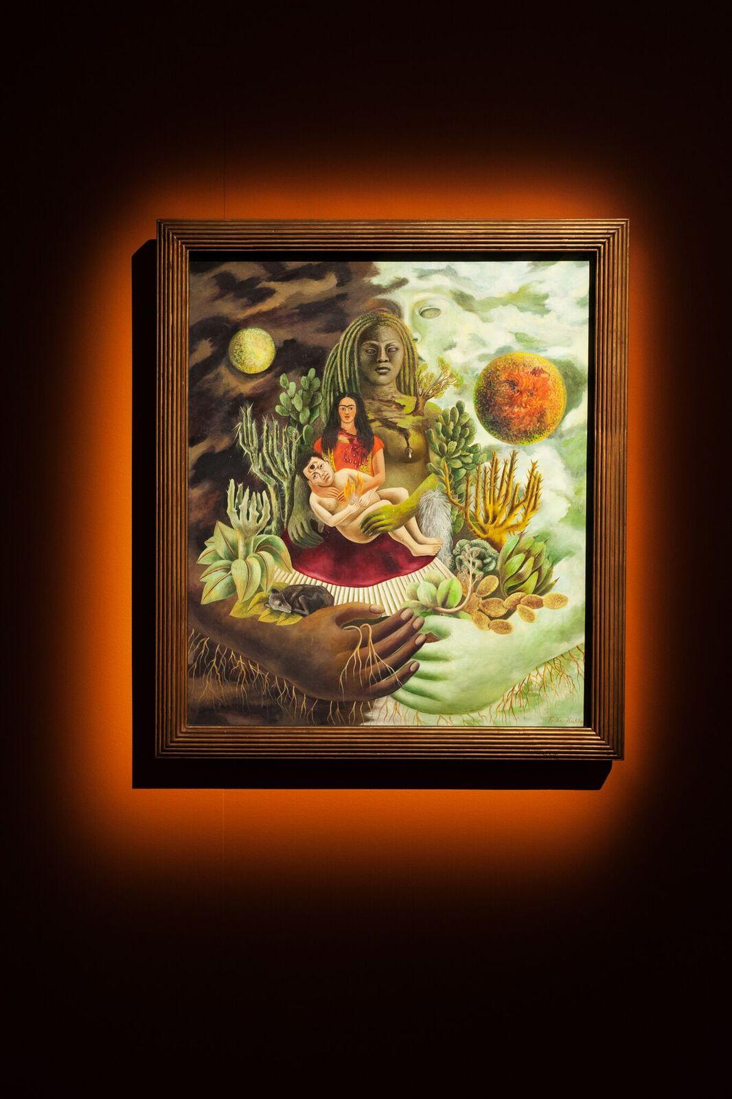Veduta della mostra Frida Kahlo. Oltre il mito, al Mudec di Milano, credit Carlotta Coppo