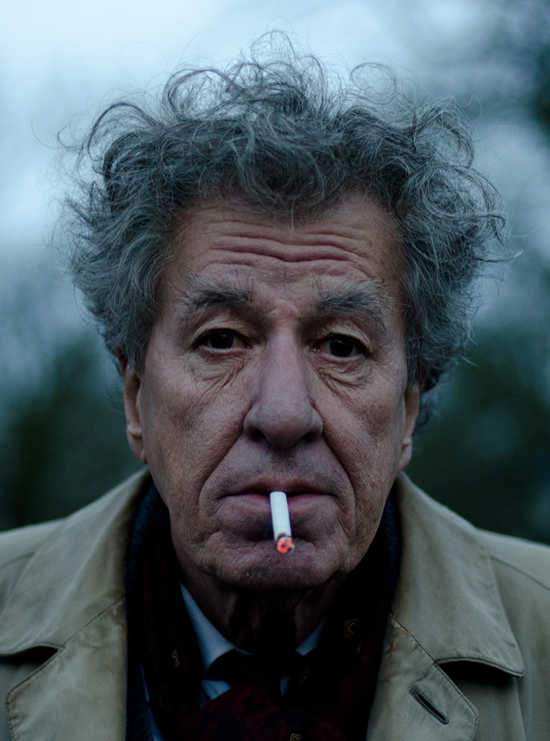 Geoffrey Rush - Final portrait, still da video. Courtesy Bim distribuzione
