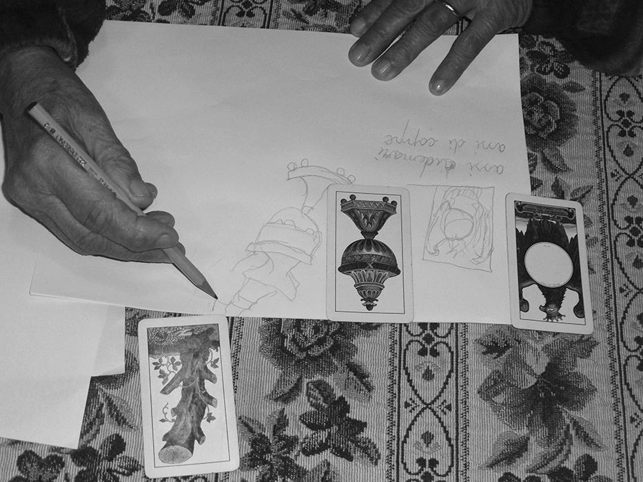 Le mani di mia nonna. Foto: Giovanni Gaggia