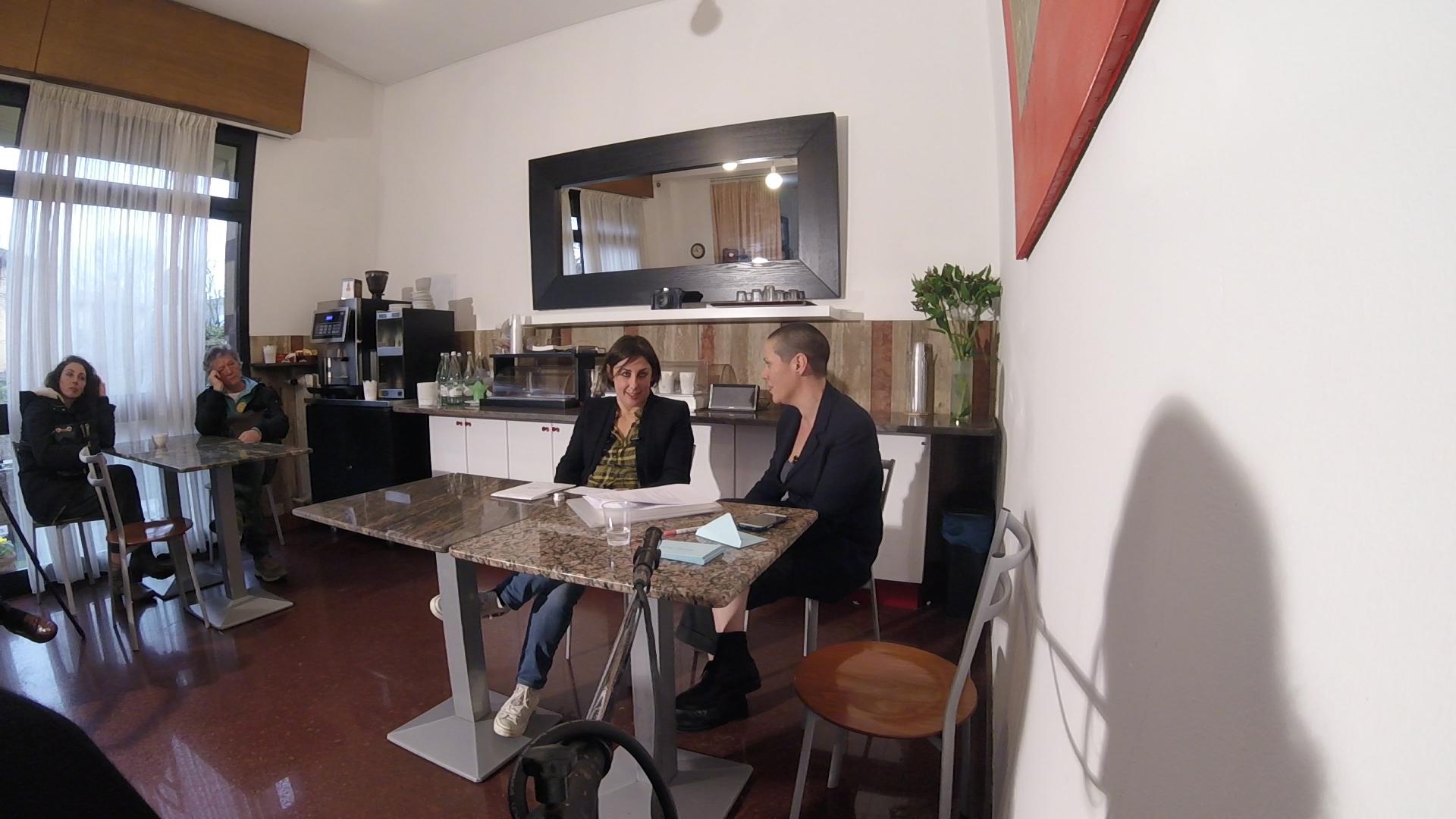 Elena Forin con Milena Becci