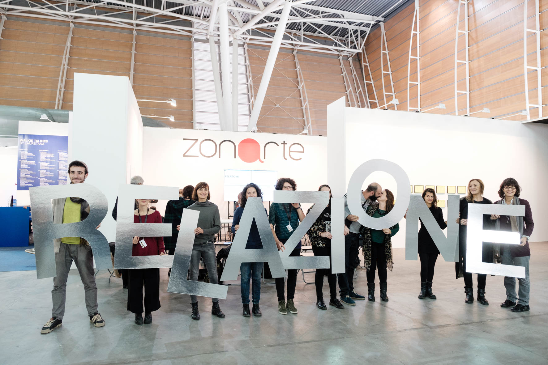 ZonArte, Education_ART/Contest, Artissima, Torino, 2016. © Andrea Guermani