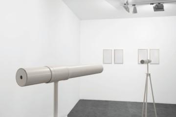 Elena Modorati. Paia, veduta della mostra, progettoarte elm, Milano Foto Bruno Bani, Milano