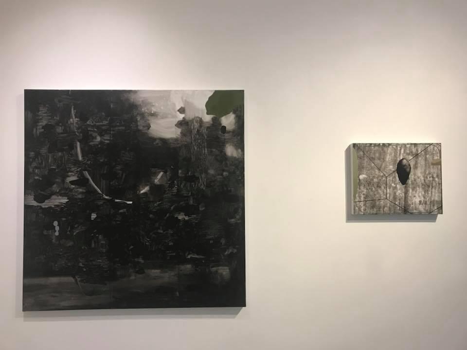 Mirko Baricchi, Pangea, veduta della mostra, Galleria Il Vicolo, Milano