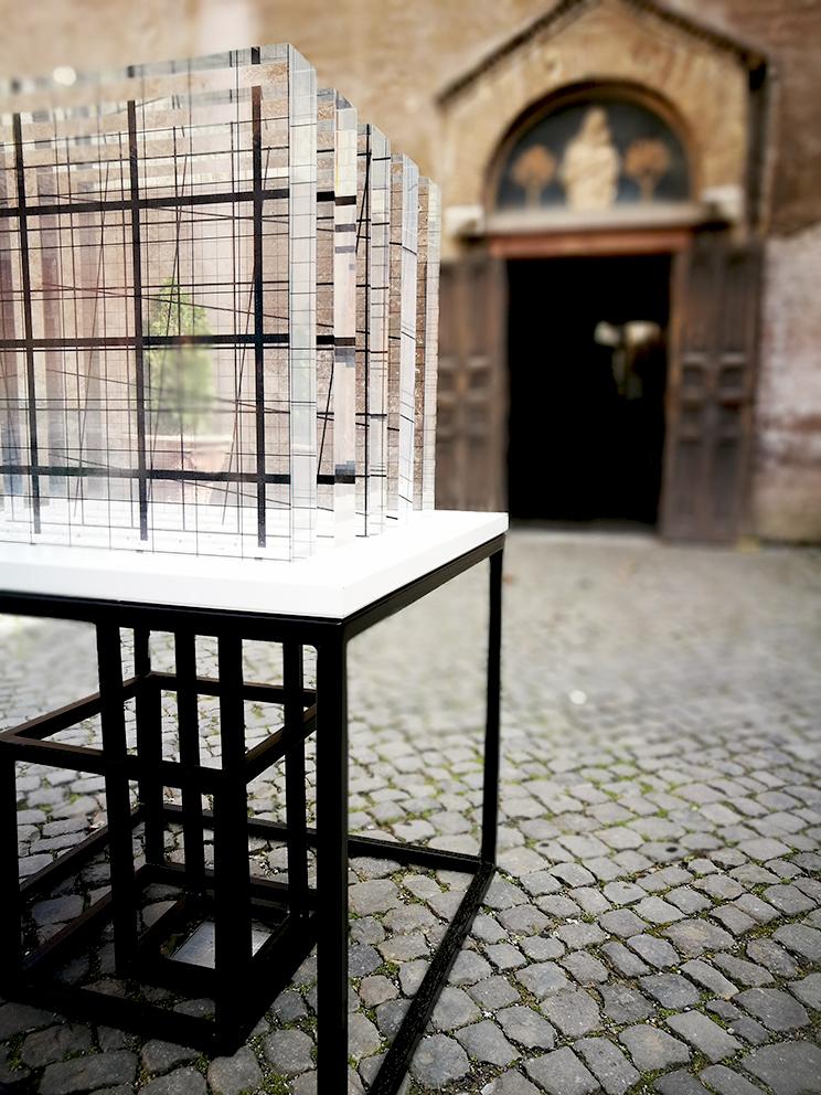 CLAVIS UNIVERSALIS di Jasmine Pignatelli - PREMIO  MEMORIE - Santa Maria in Cappella Roma