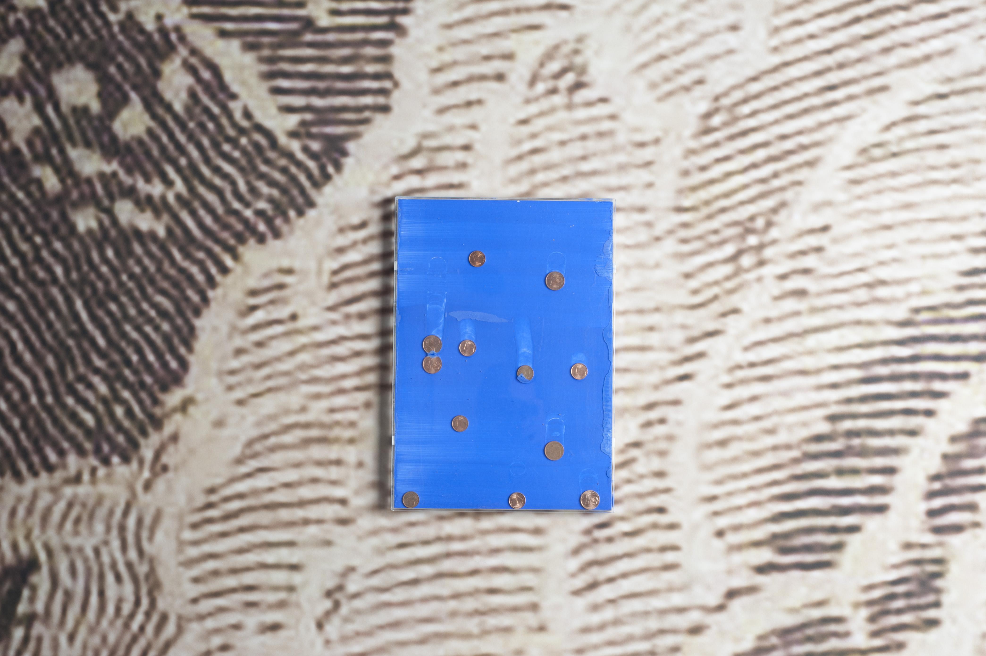 Lapo Simeoni, Cielo stellato, particolare veduta allestimento, Intragallery, Napoli