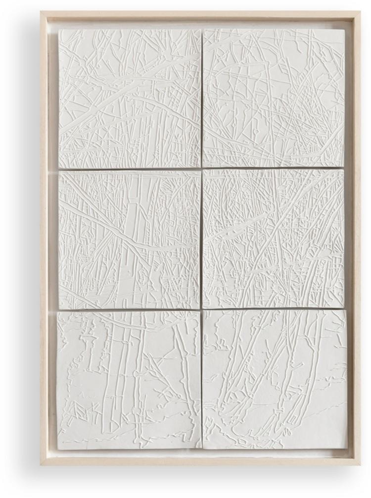 Elisabeth Scherffig, F.F., 2011, porcellana, 56.5x40 cm