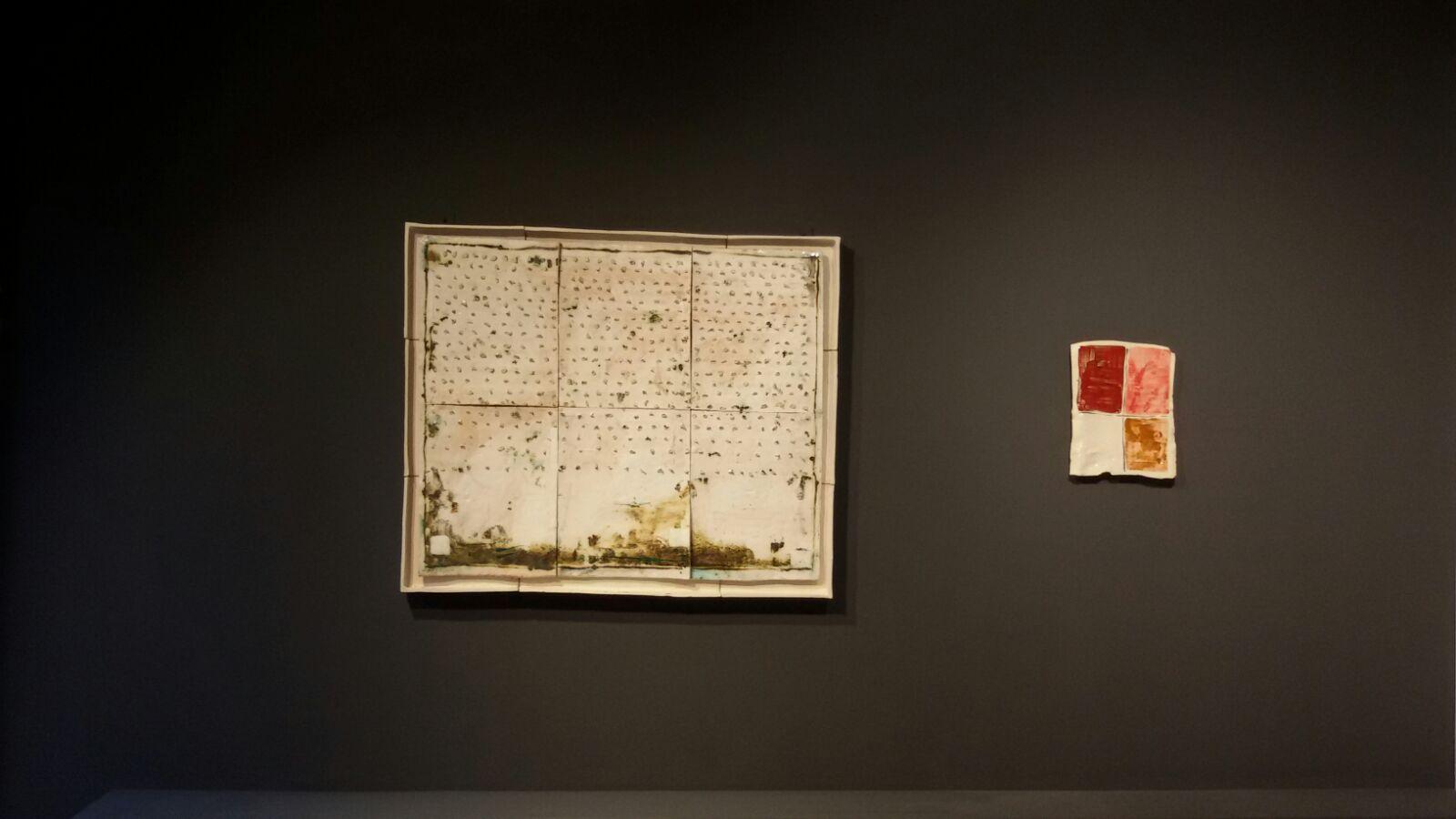 Mirco Marchelli. A capo. Ceramiche Albisola, veduta della mostra, MARCOROSSI arte contemporanea, Verona