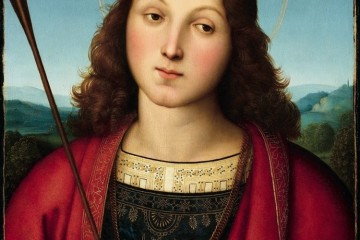 Raffaello, San Sebastiano, 1502-1503 circa, Accademia Carrara, Bergamo Credits: Fondazione Accademia Carrara, Bergamo