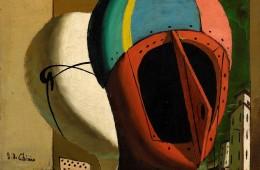 Giorgio de Chirico Muse metafisiche, 1918 olio su tela,  Collezione Fondazione Francesco Federico Cerruti per l'Arte Deposito a lungo termine, Castello di Rivoli Museo d'Arte Contemporanea, Rivoli-Torino. © Giorgio de Chirico, by SIAE 2018
