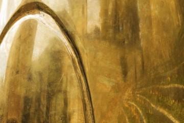 """Luca Pozzi, The Dragon's Egg (dettaglio), mostra """"Signal"""", Edicola Radetzky, Milano"""