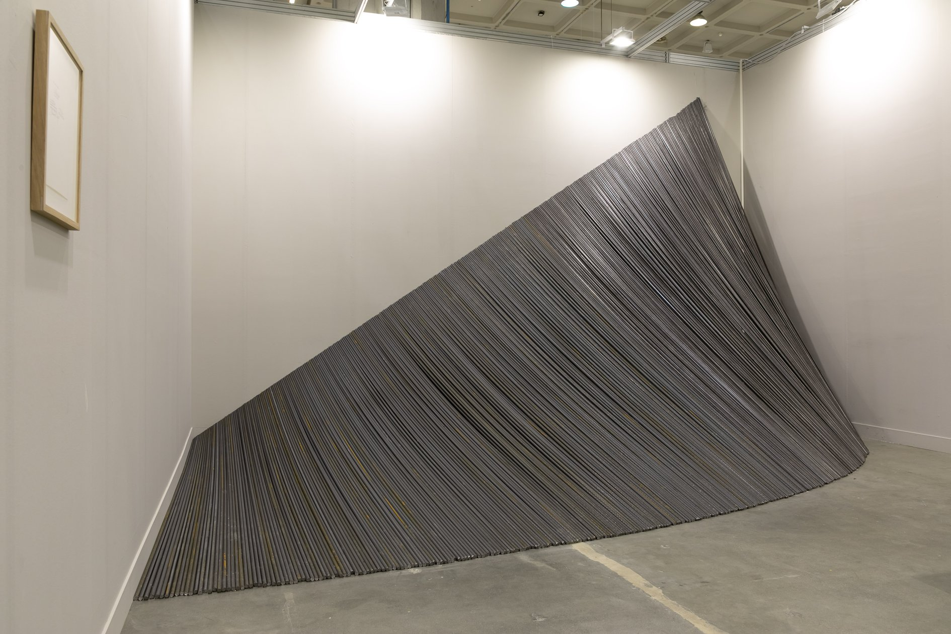 Premio Herno, Wiiliam Anastasi, Galerie Jocelyn Wolff
