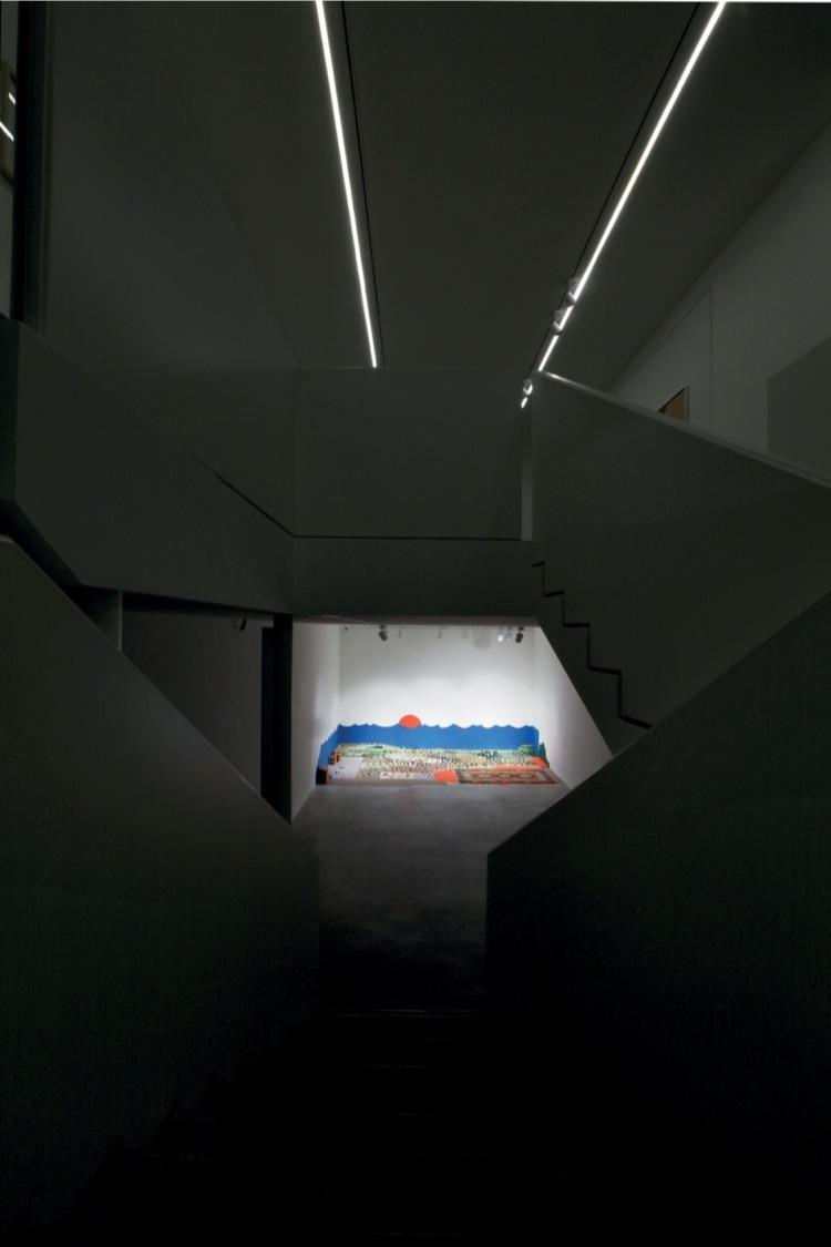 Alighiero Boetti. Il mondo fantastico, veduta della mostra (Zoo, 1979), Dep Art, Milano Foto Bruno Bani Courtesy Dep Art, Milano