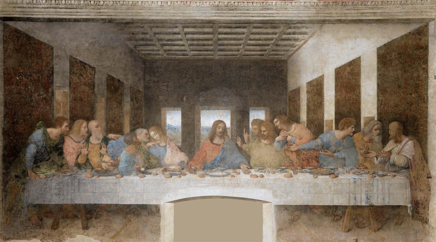 Ultima Cena, Leonardo da Vinci