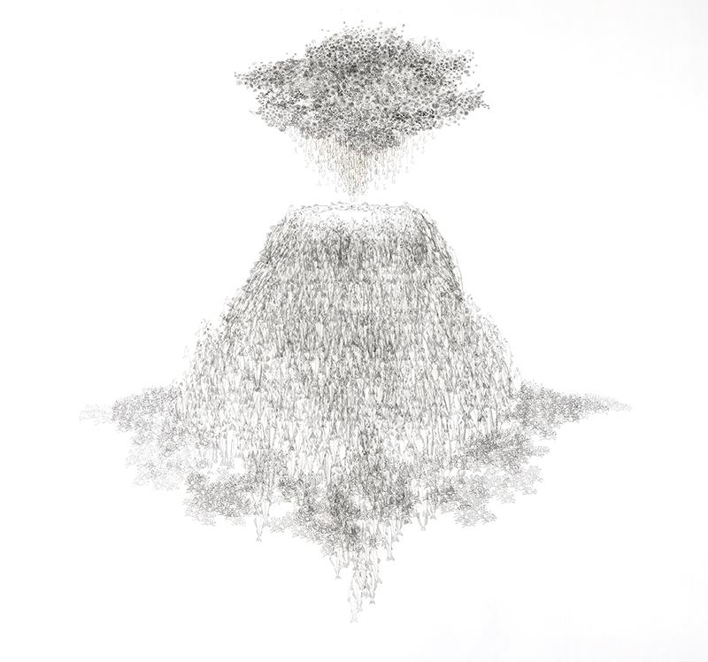 Tamara Ferioli, Volcano's lullaby, 2018