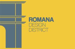 Romana Desing District (logo)