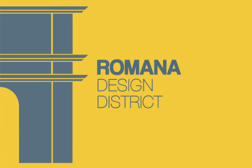 Romana Desing District (logo)