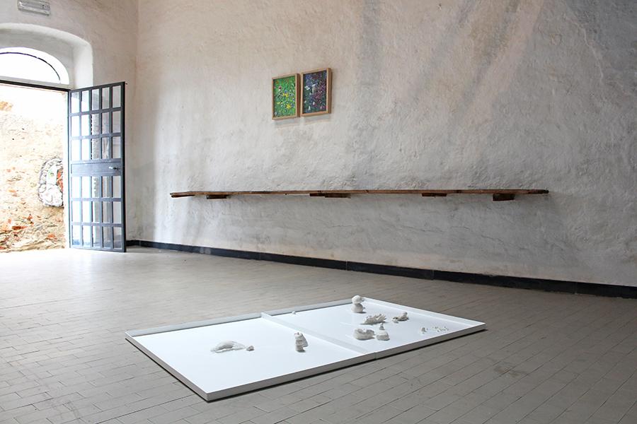 Gianluca Quaglia. Una certa cosa o l'altra, veduta della mostra, Casa Museo Jorn, Albissola Marina (SV)