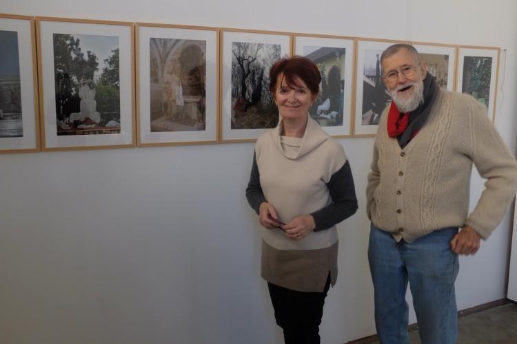 Geoffrey Hendricks e Caterina Gualco