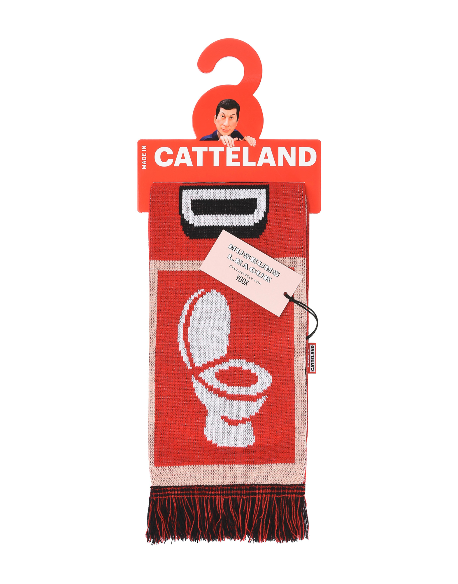 Made in Catteland, scarf exclusively available on YOOX