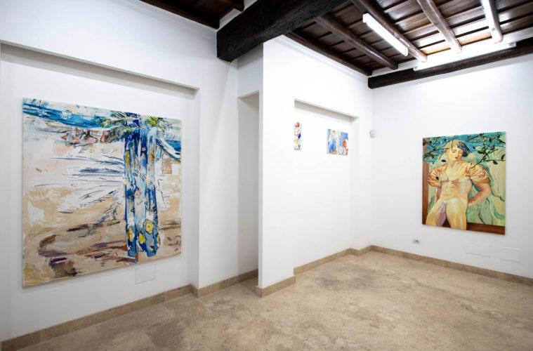 Richter Fine Art, Fiore aperto fiore chiuso, Giulio Catelli e Maurizio Bongiovanni, photo credits Giorgio Benni