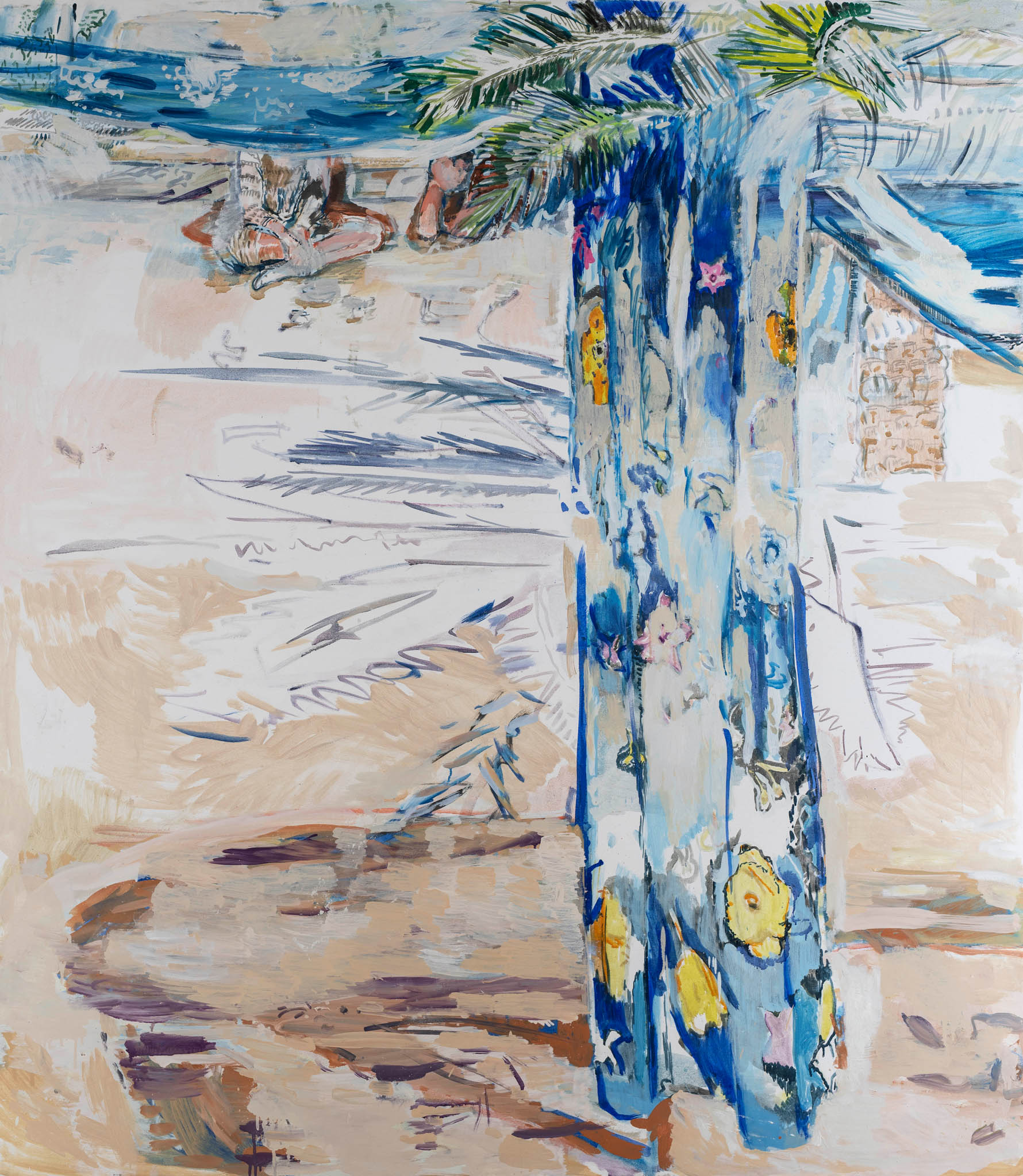 Richter Fine Art, Giulio Catelli, Tenda di piazza Vittorio, olio su tela, 2019, photo credits Giorgio Benni
