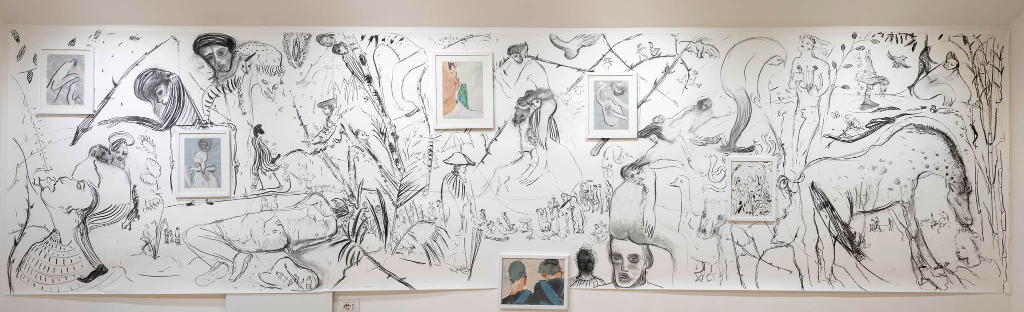Richter Fine Art, Maurizio Bongiovanni e Giulio Catelli, Siamo Amici, photo credits Giorgio Benni