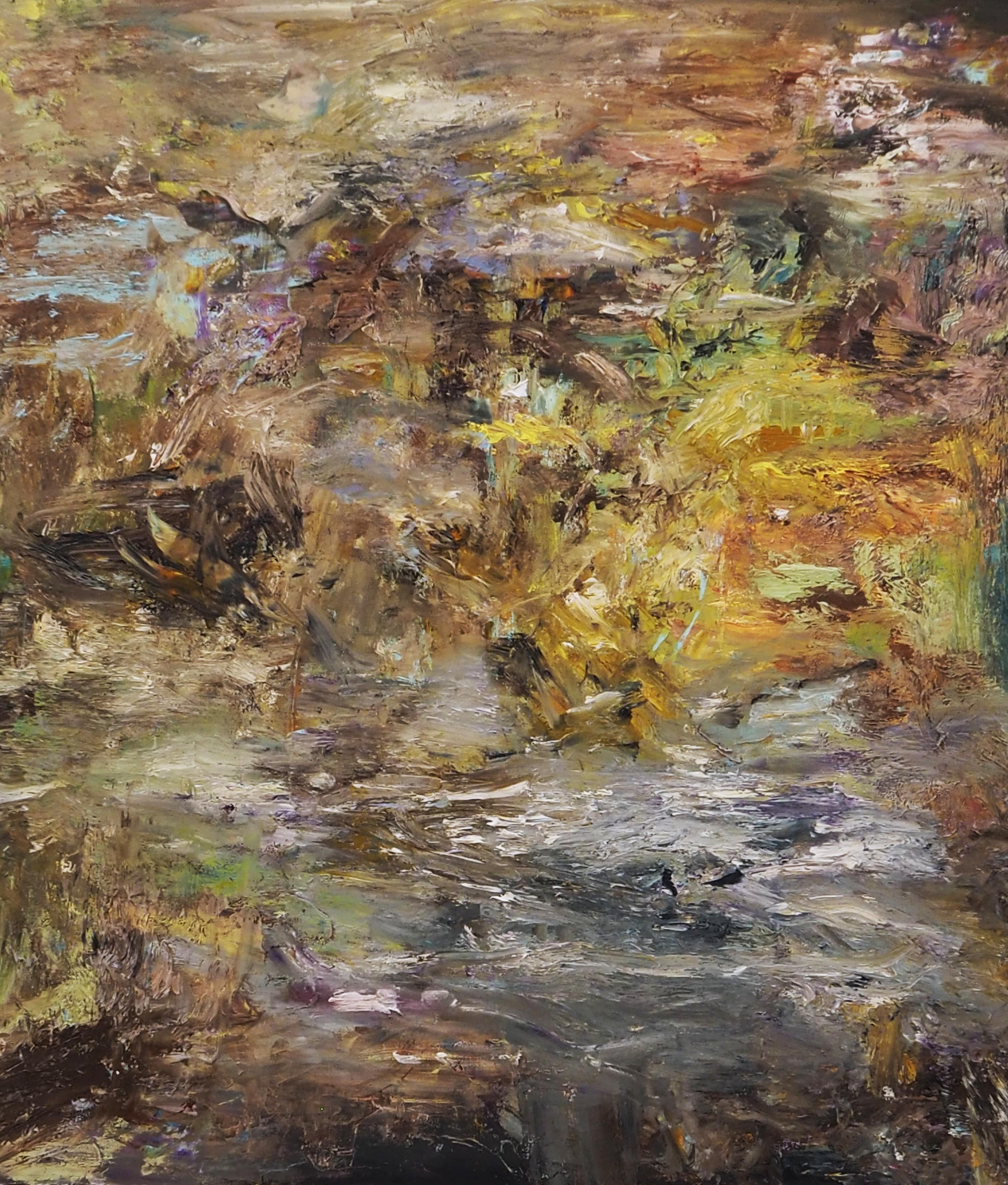 Isabella Nazzarri, Ambientale, olio su tela, 70x80 cm, 2020