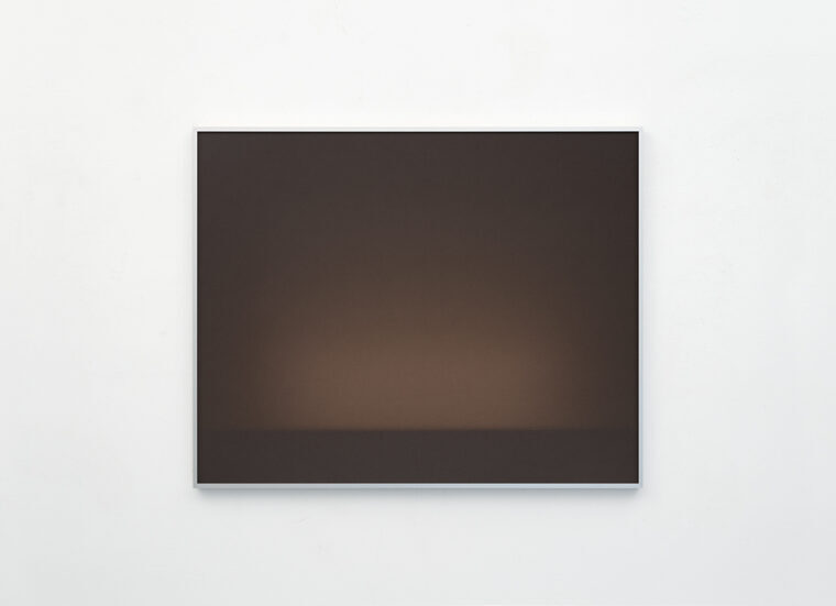 Luca Lupi, Espozione XLVIII, 2021, luce su carta, cm 80x100, courtesy Cardelli & Fontana